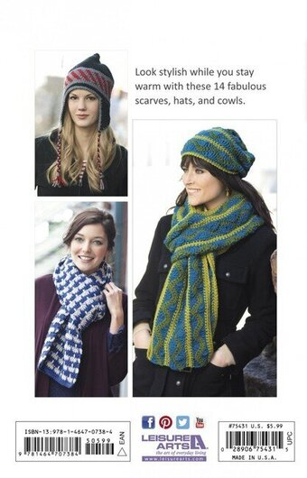 Hats & Scarves - Crochet Pattern