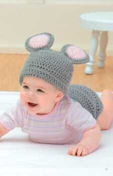 Hat & Diaper Covers Book 2 - Crochet Pattern