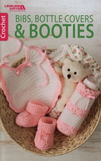 Bibs, Bottle Covers & Booties - Crochet Pattern