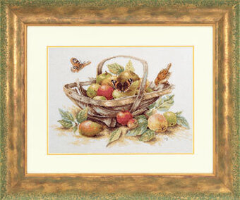 Summer Fruit by Marjolein Bastin (#34261) - Cross Stitch Kit