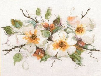 Apple Blossom - Cross Stitch Kit