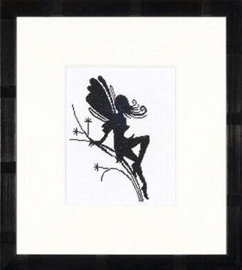 Little Fairy Silhouette - Cross Stitch Kit