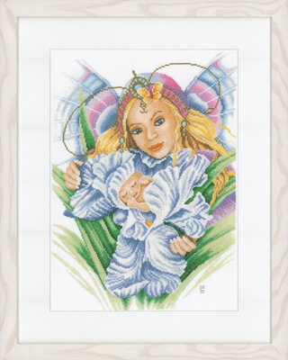 Mother and Baby (Van Scharrenburg) - Cross Stitch Kit