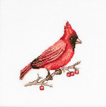 Cardinal - Cross Stitch Kit