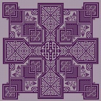 Rosemarkie - Cross Stitch Pattern