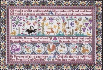 All Things - Cross Stitch Pattern