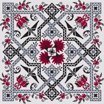 Le Jardin de Plaisir - Cross Stitch Pattern