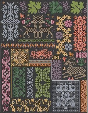 Tobasco - Cross Stitch Pattern
