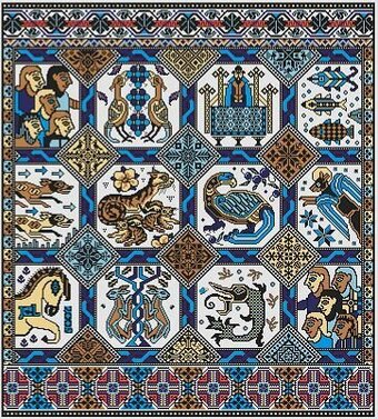 Opus Magnusson - Cross Stitch Pattern