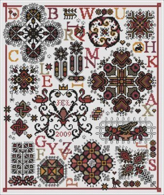 Pigalle - Cross Stitch Pattern