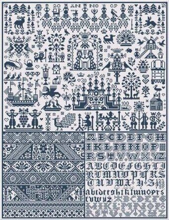 Spirit of Marken - Cross Stitch Pattern