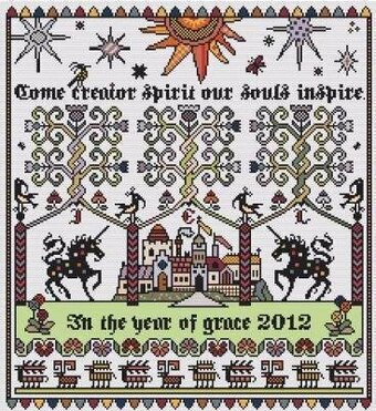 Whitsun - Cross Stitch Pattern