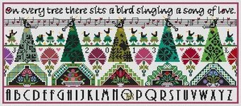 Dawn Chorus - Cross Stitch Pattern