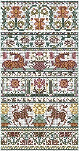 Dankworth - Cross Stitch Pattern