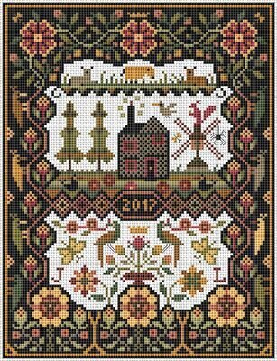 Black House, The - Cross Stitch Pattern