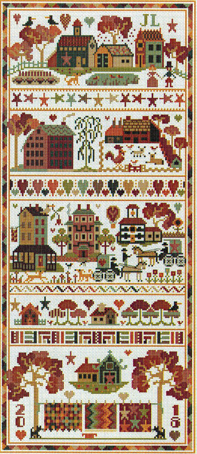 Quiltz - Cross Stitch Pattern