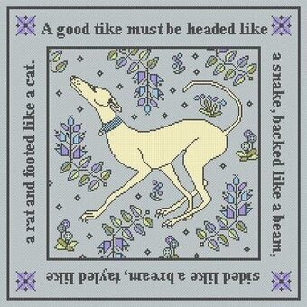 A Good Tike - Cross Stitch Pattern