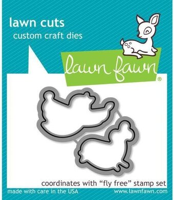 Fly Free - Lawn Cuts Die