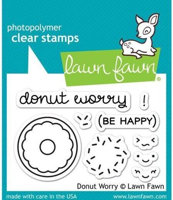Donut Worry - Clear Stamp