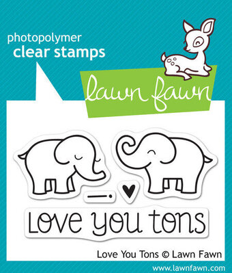 Love You Tons - Clear Stamp