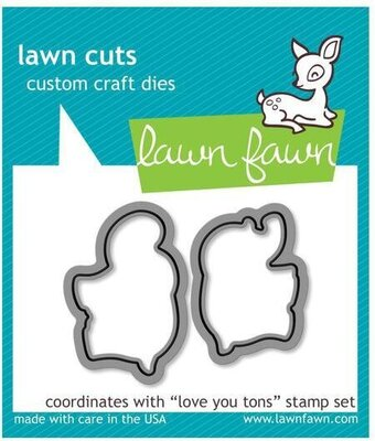 Love You Tons - Lawn Cuts Die