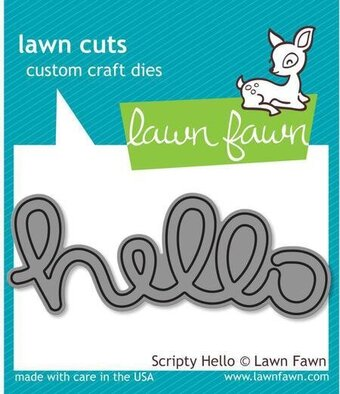 Scripty Hello - Lawn Cuts Die