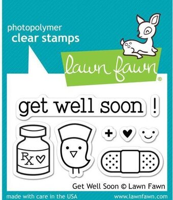 Get Well Soon - Clear Stamp