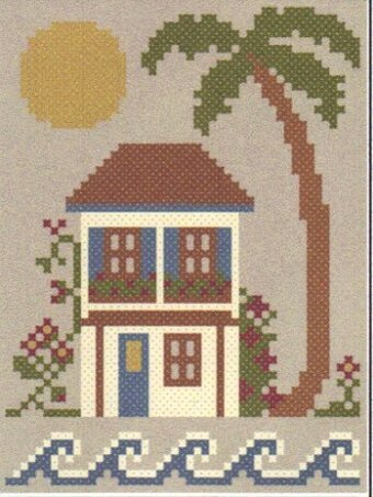 Sea to Shining Sea - The West Coast - Cross Stitch Pattern