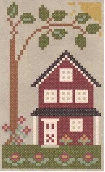 Sea to Shining Sea - The Midwest - Cross Stitch Pattern