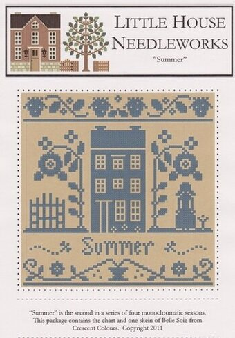 Summer - Monochromatic Series - Cross Stitch Pattern