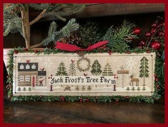 Jack Frost's Tree Farm - Cross Stitch Pattern