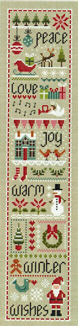 Christmas Wishes - Cross Stitch Pattern