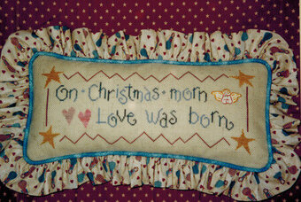 Christmas Morn - Cross Stitch Pattern