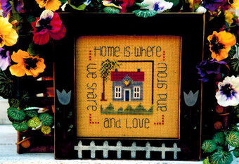 Home is Where We Share - Cross Stitch Pattern