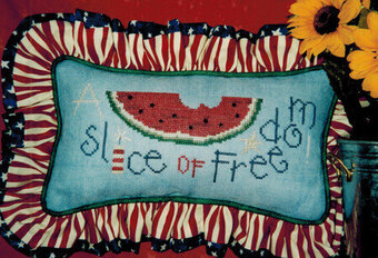 A Slice of Freedom - Cross Stitch Pattern