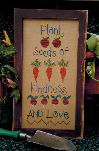 Plant Seeds of Kindness - Cross Stitch Pattern