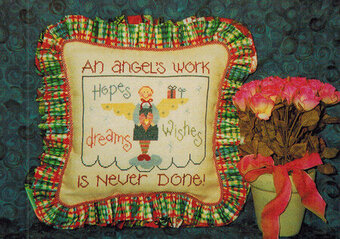 Angel's Work - Cross Stitch Pattern
