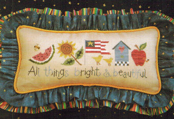 All Things Bright & Beautiful - Cross Stitch Pattern