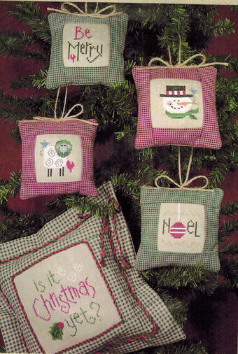Tiny Tidings IV - Cross Stitch Pattern