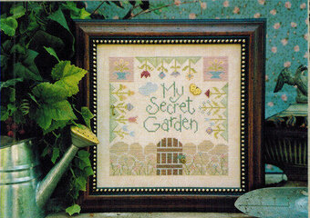 My Secret Garden - Cross Stitch Pattern