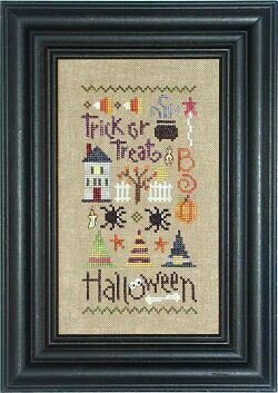 Lizzie Kate Halloween Sampler with Charms and Buttons