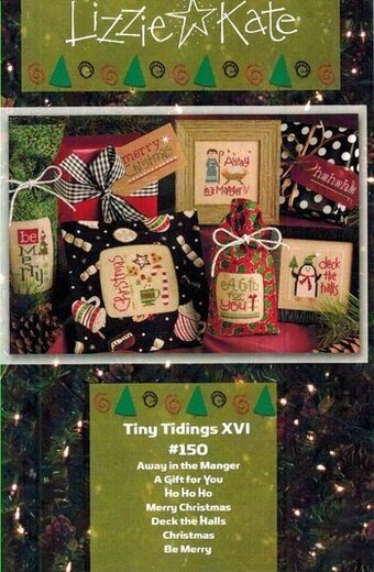Tiny Tidings XVI - Cross Stitch Pattern