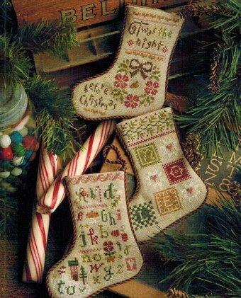 Flora McSample's 2013 Stockings - Cross Stitch Pattern
