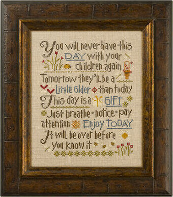 Let Them Be Small - Cross Stitch Pattern