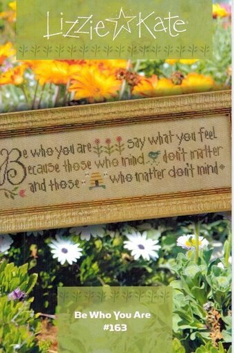 Be Who You Are - Cross Stitch Pattern