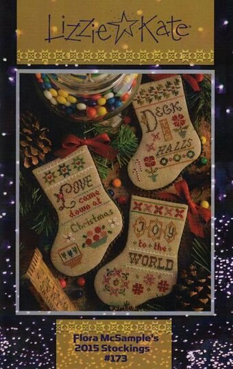 Flora McSample's 2015 Stockings - Cross Stitch Pattern