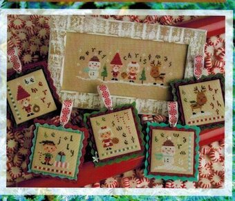 Tiny Tidings XXI - Cross Stitch Pattern