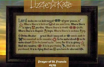 Prayer of St Francis - Cross Stitch Pattern