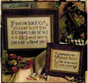 If You Live to Be 100 - Cross Stitch Pattern