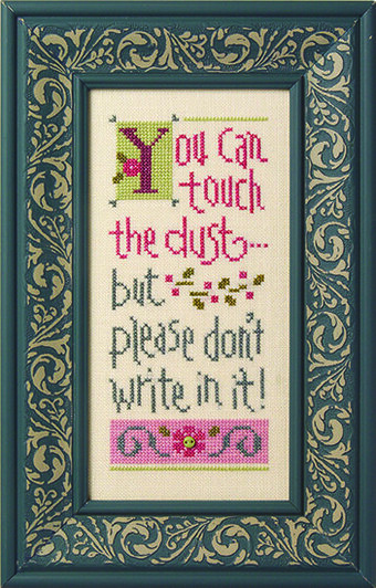 You Can Touch the Dust - Cross Stitch Pattern